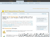 WP Shopping Pages